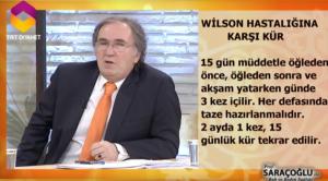 Wilson hastalığı bitkisel tedavi