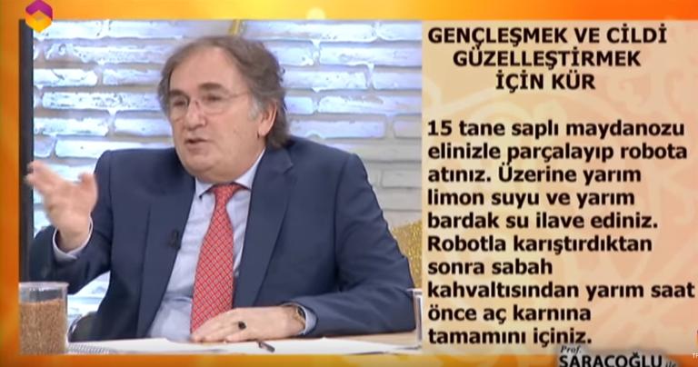 İbrahim Saraçoğlu maydanoz kürü