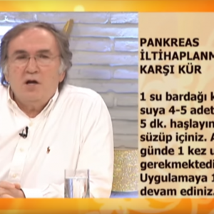 Pankreatit bitkisel tedavi