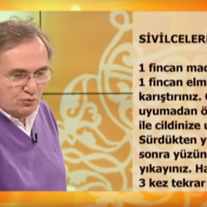 Sivilce için elma sirkesi kürü