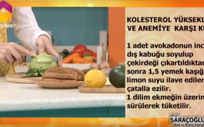 ibrahim saraçoğlu kolesterol nasıl düşürülür ?