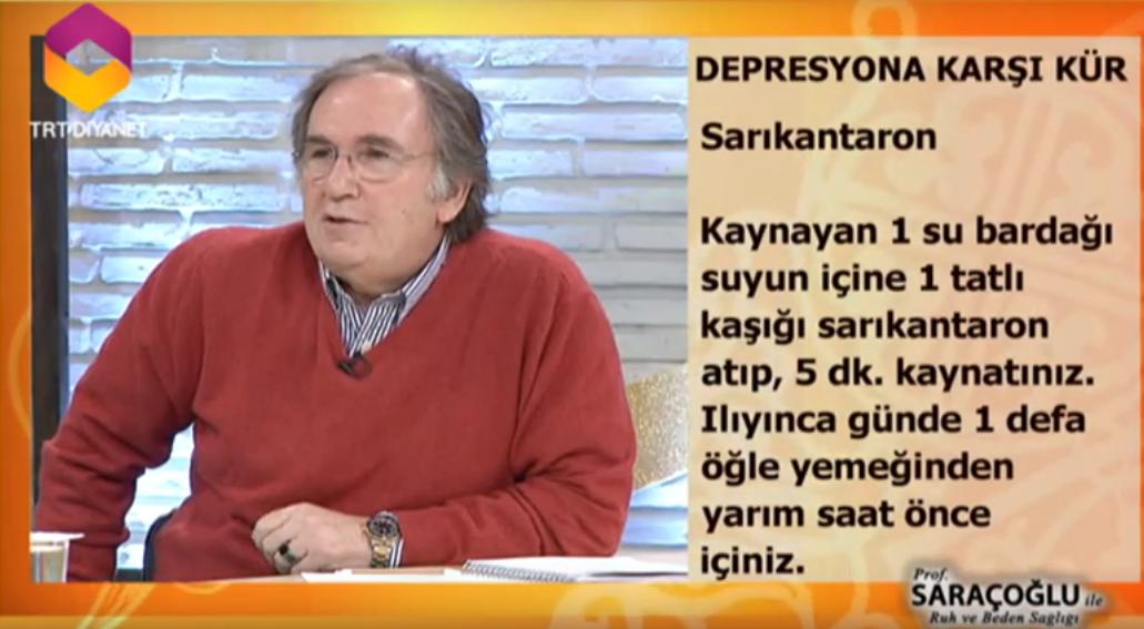 depresyona iyi gelen bitki çayları ibrahim saraçoğlu