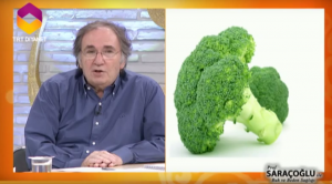 Tüpleri açmak için brokoli kürü